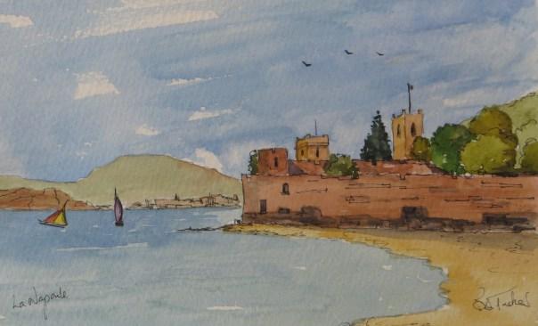 The Castle at La Napoule