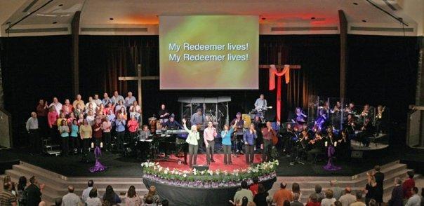 Easter Worship at MPCC, 2009