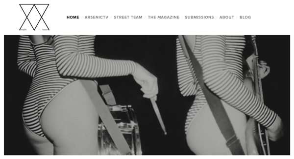 Arsenic Magazine - Magazines that Accept Submissions