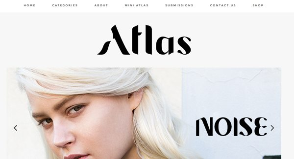 Atlas Magazine - Magazines that accept submissons