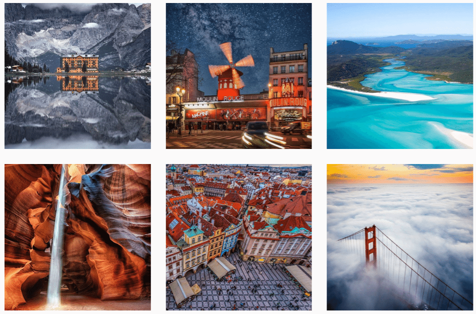 travel instagram feature accounts