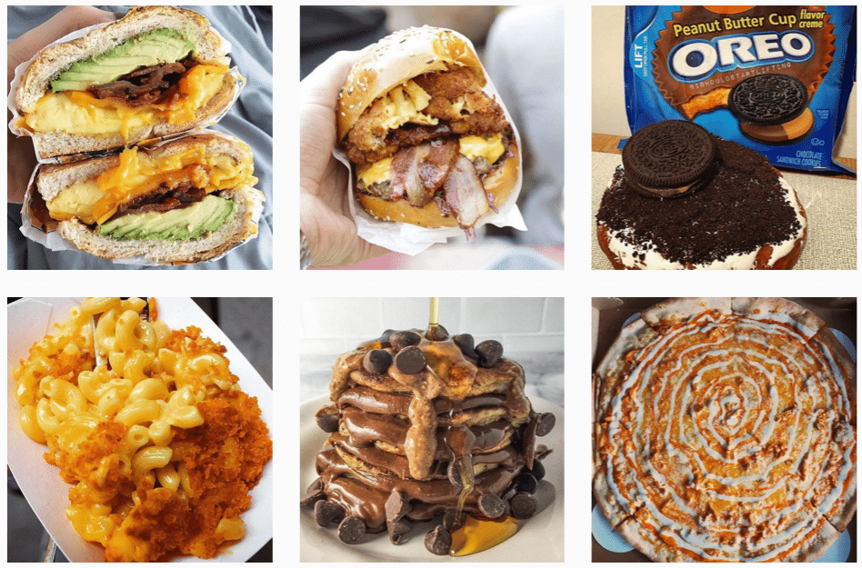 food instagram feature accounts