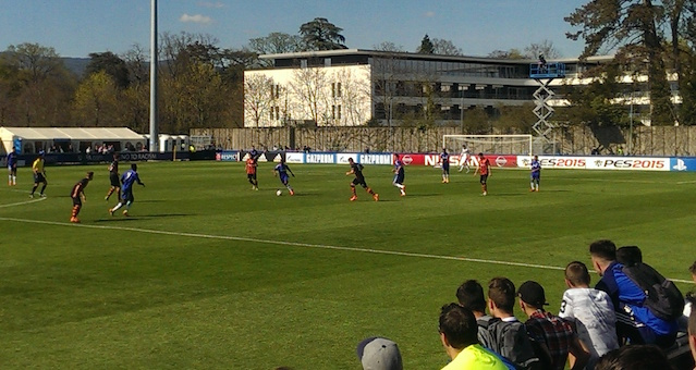 UEFA Youth League Action Roma Vs Chelsea