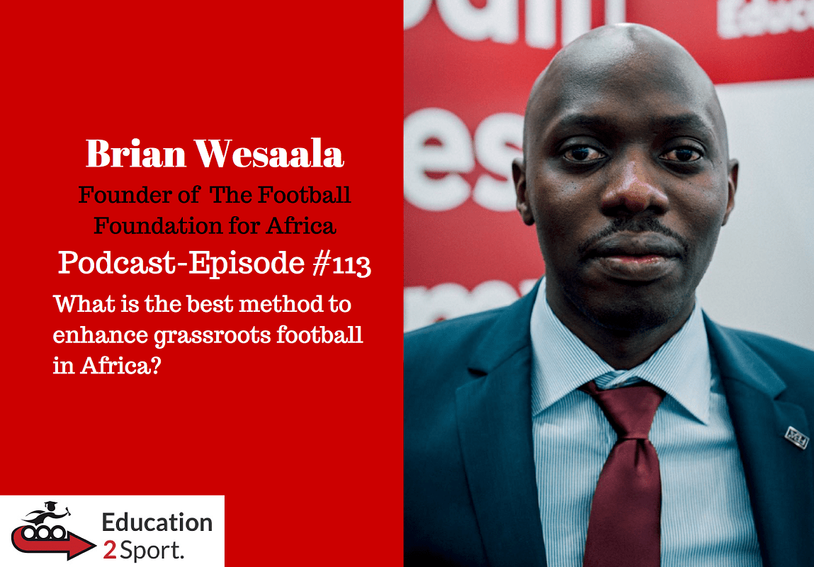 I had the pleasure and privilege to interview with Ed Bowers from Education2Sport. on my sports career journey thus far, my thoughts on developing grassroots football in Africa and my vision for The Football Foundation for Africa. Hope you enjoy and always happy to receive your feedback.