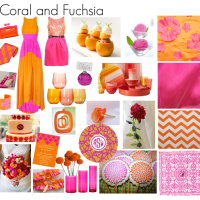 Friday Favorites: Coral and Fuchsia!