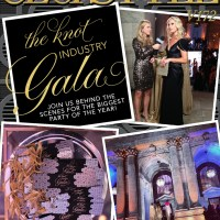 The Knot Industry Gala (and Me!) in This Month's CeciStyle Magazine