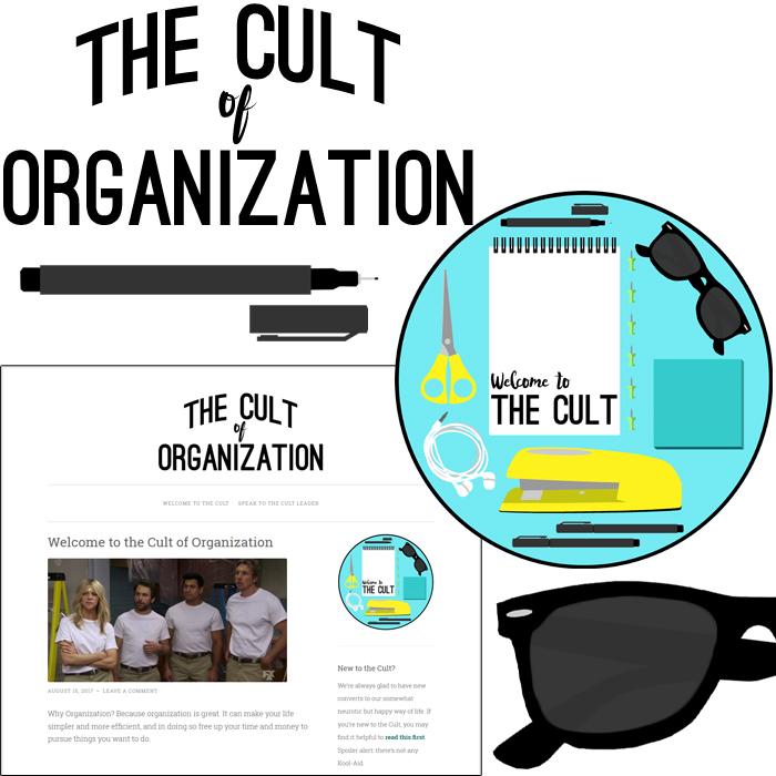 Cult of Organization logo variations