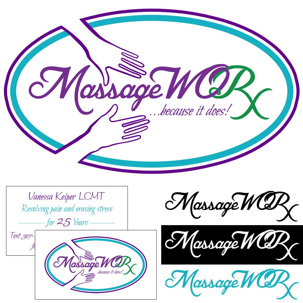 MassageWORX Logo Design and Business Cards
