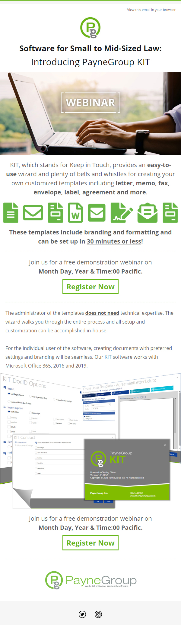 PayneGroup KIT Webinar Email