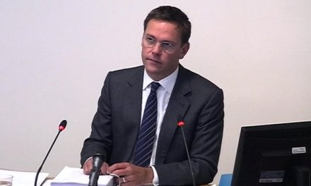 UK:  James Murdoch at Leveson Inquiry