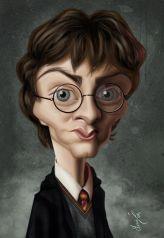 Caricature de Daniel Radcliffe