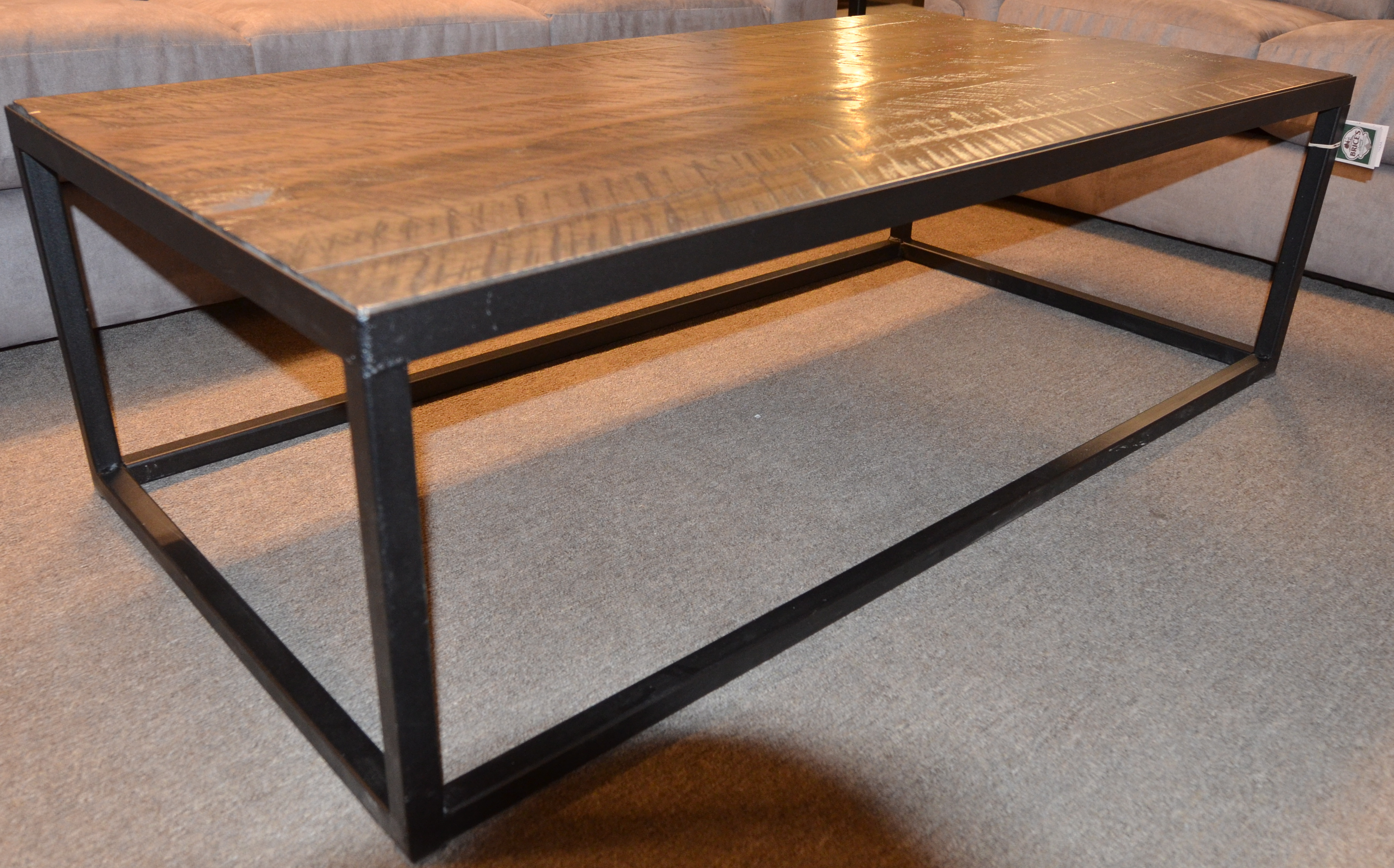 metal leg coffee table brices furniture