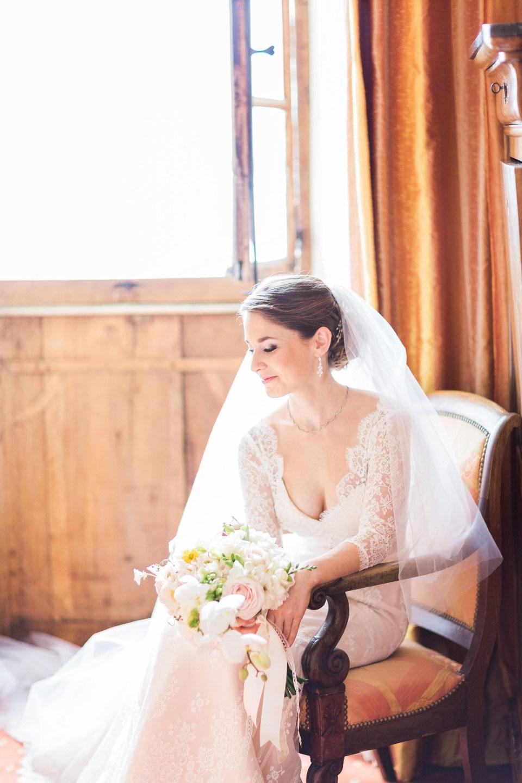 Romantic Bridal Portrait | Bri Cibene Photography | www.bricibene.com