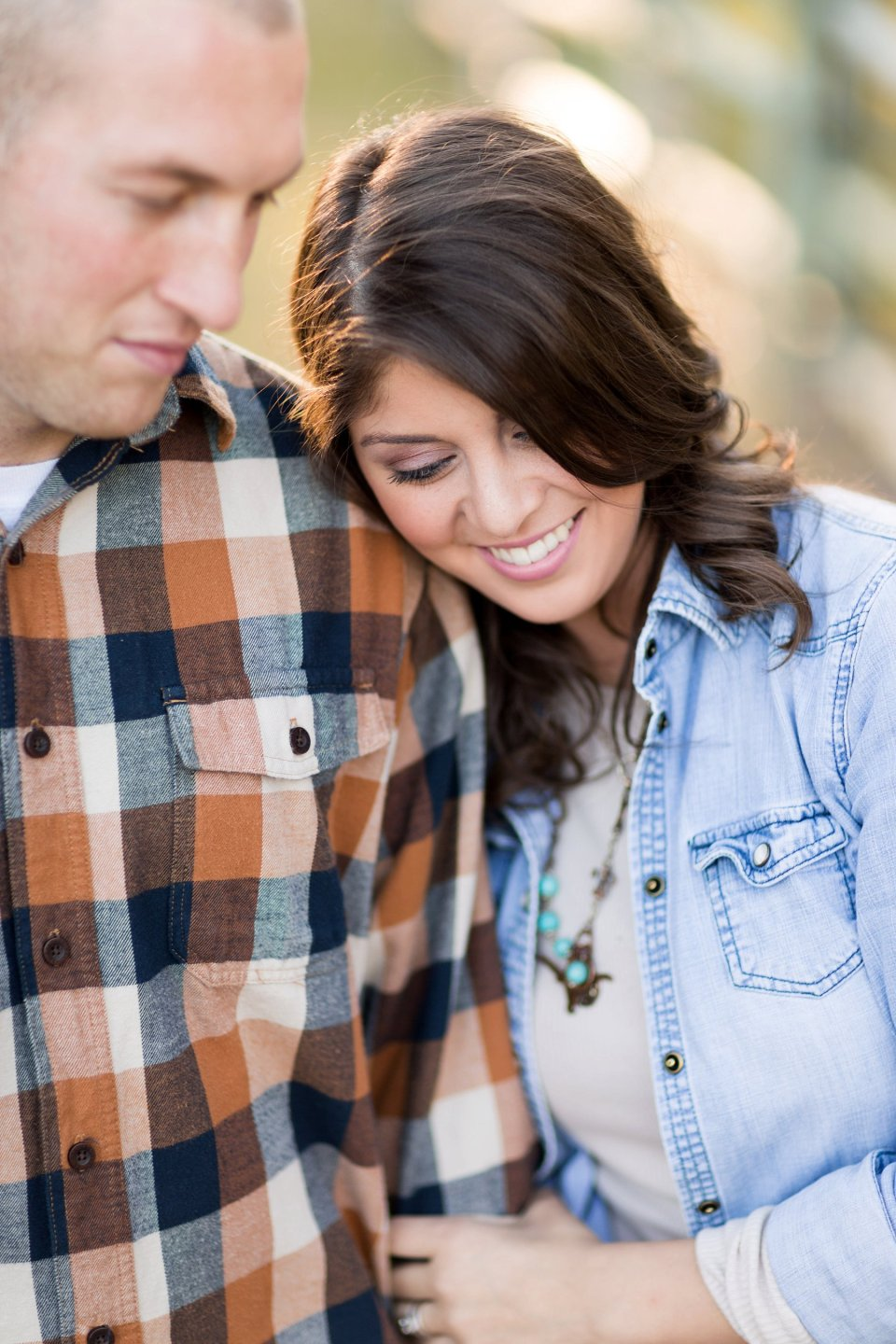 Grass Field Engagement Photos | Camp Milton Anniversary Session | Bri Cibene Photography www.bricibene.com