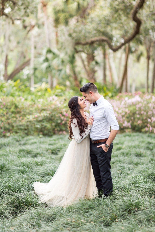 Washington Oaks Engagement | Bri Cibene Photography