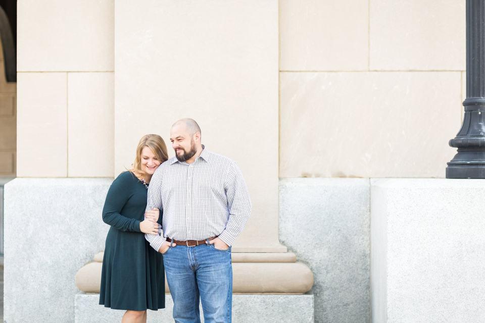 Downtown Jacksonville Anniversary | Bri Cibene Photography | Jacksonville Wedding Photographers