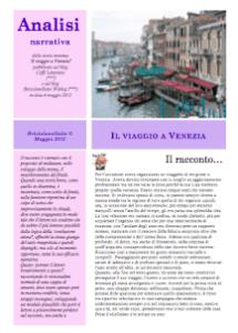 Analisi narrativa del racconto Il viaggio a Venezia