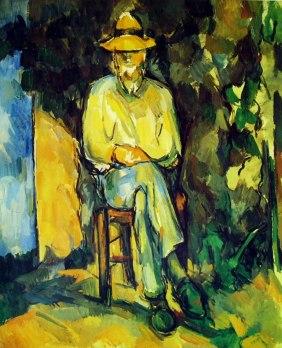 Cezanne-il giardiniere