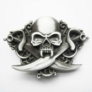 Skull-font-b-buckle-b-font-series-of-double-font-b-knife-b-font-self-shade