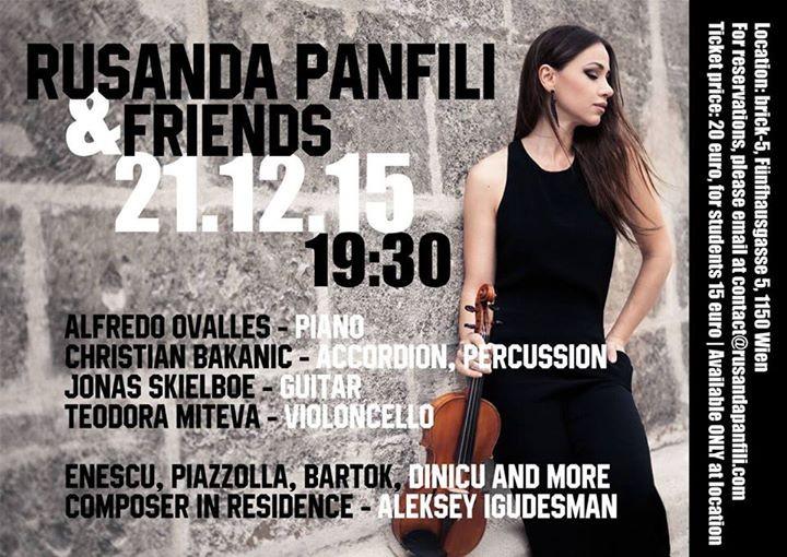 Konzert - Rusanda Panfili & Friends