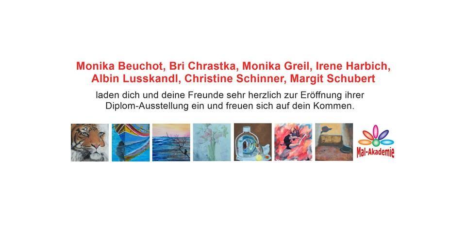 Diplom-Ausstellung der Mal-Akademie NÖ