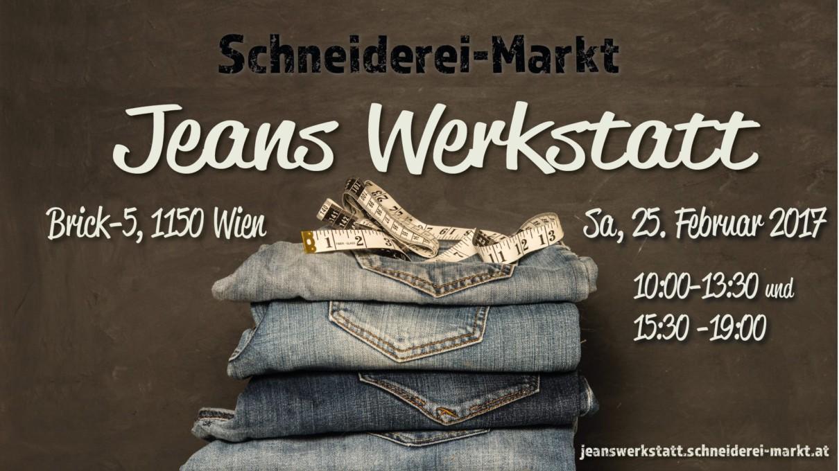 """Schneiderei-Markt: """"Jeanswerkstatt"""""""