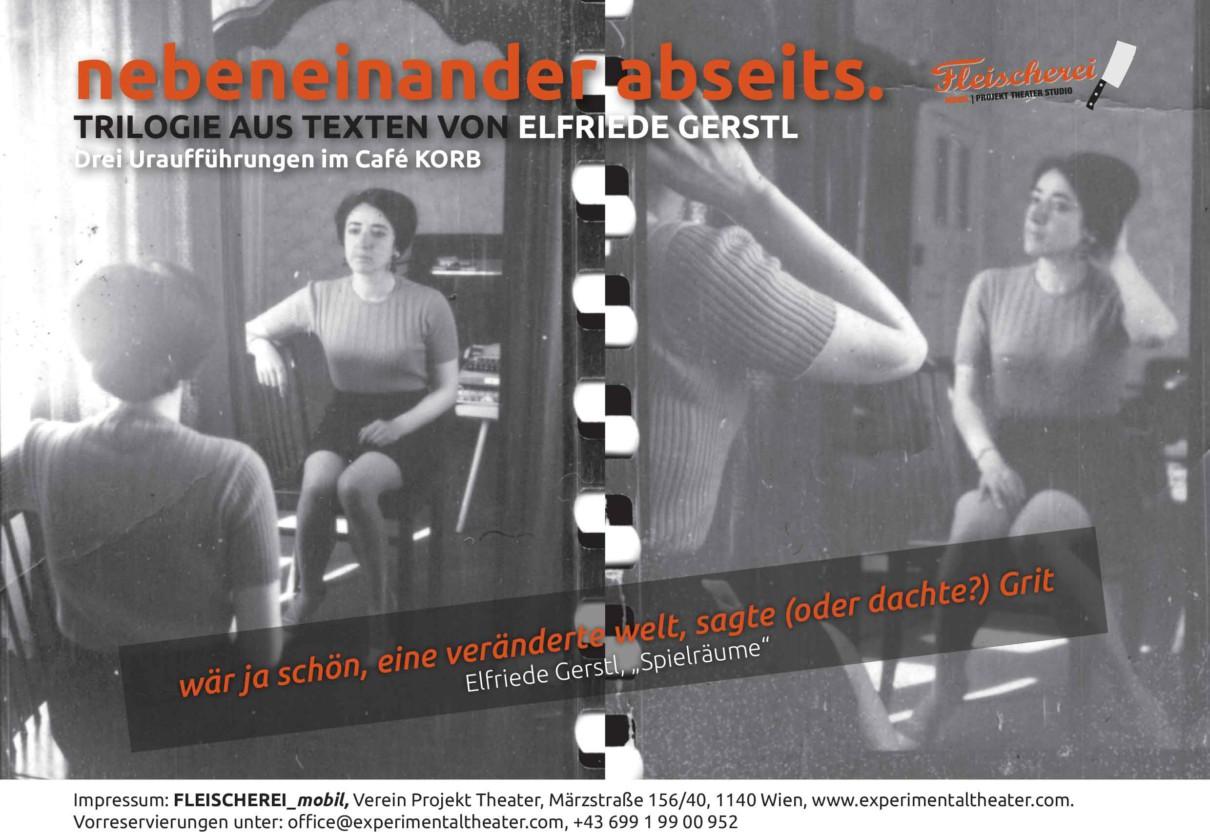 """""""Das Fest"""" nach Elfriede Gerstls Kurzroman Spielräume"""