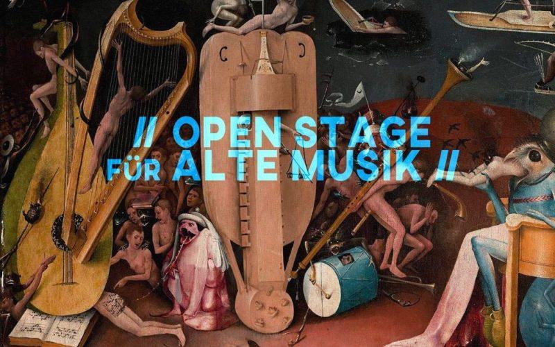 Open Stage für Alte Musik in der Turnhalle