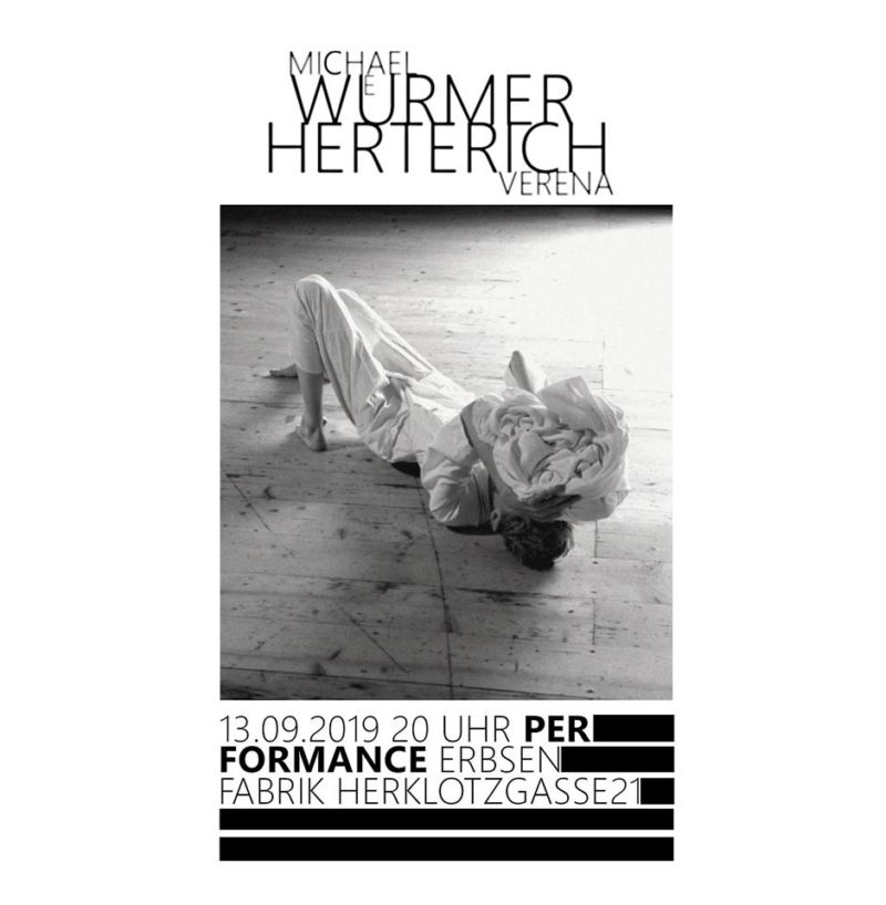 "Michael Würmer & Verena Herterich: Performance ""2.7sec"" Kunst, Performance, Tanz"