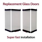 Majestic Replacement Glass Doors