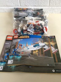 Lego 76028 DC Comics Super Heroes Darkseid Invasion