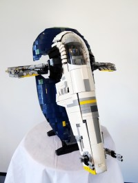 Lego UCS Slave I: Before Boba Fett  Brick-Customs.com
