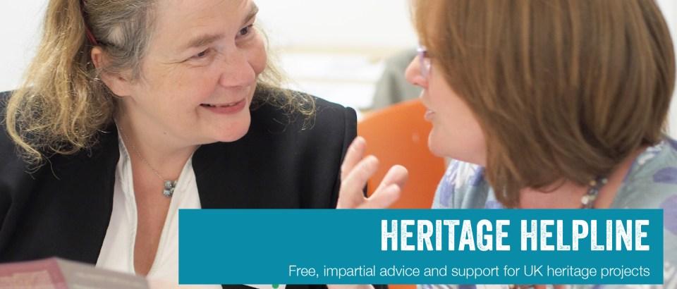 Heritage Helpline Promotional Banner