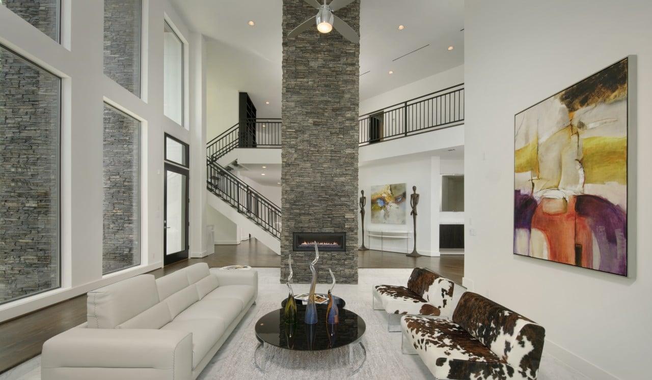 teal kitchen appliances black and white tile stacked stone - brick america
