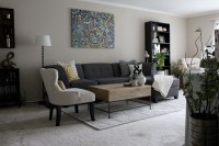 Living Room Redo | Brick & Vine