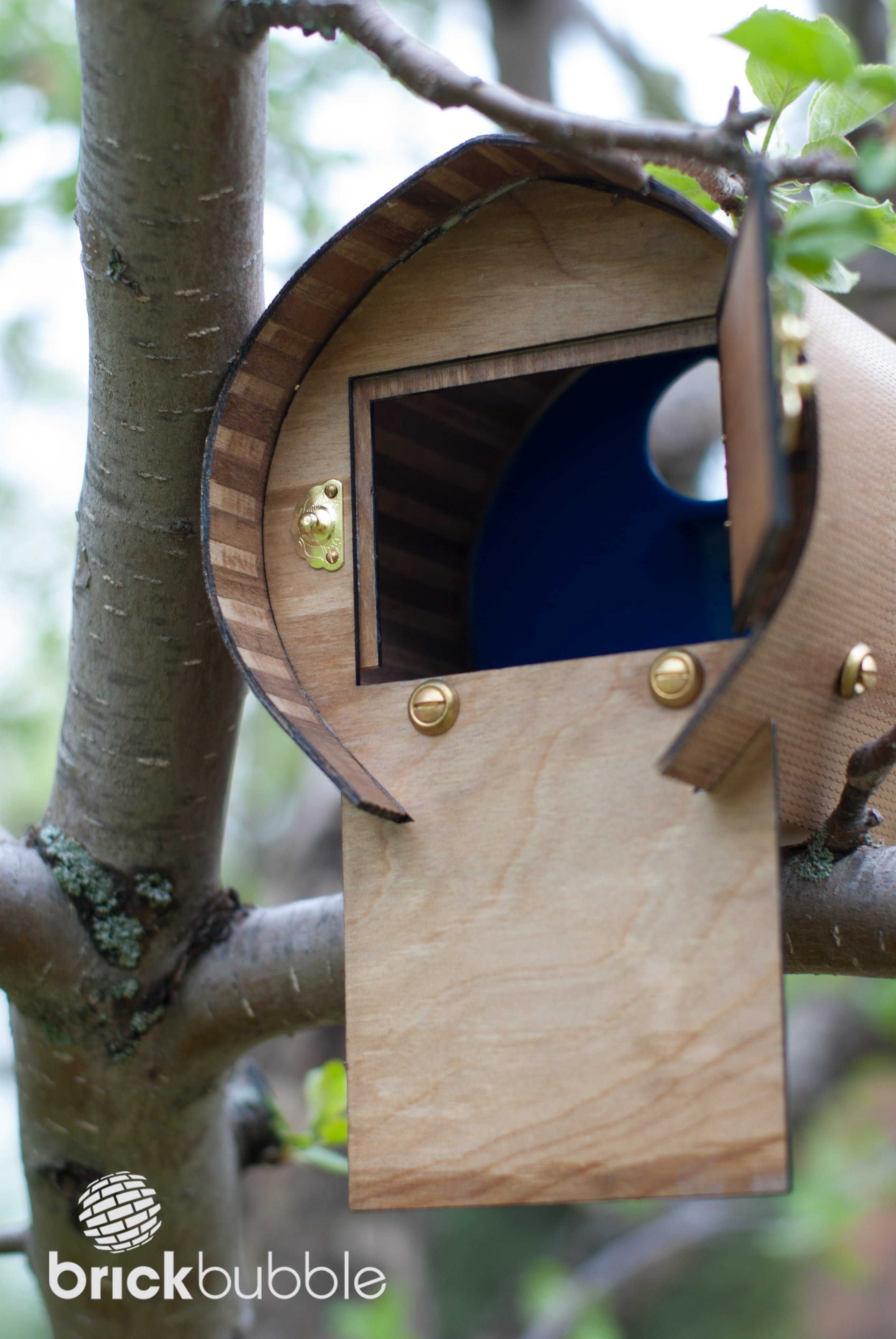 For The Love Of Birds Laser Cut And Engraved Bird House
