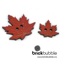 Maple Leaf – button