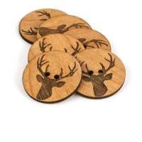 Deer Head – buttons