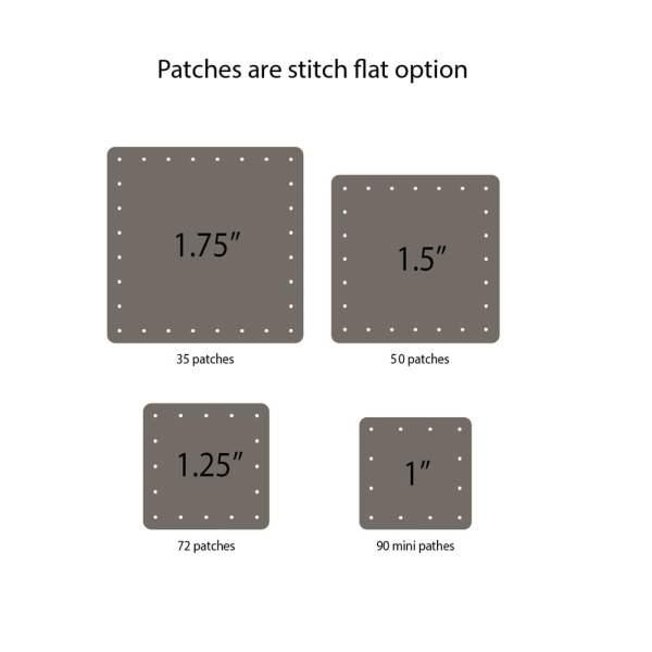 custom patch sizing