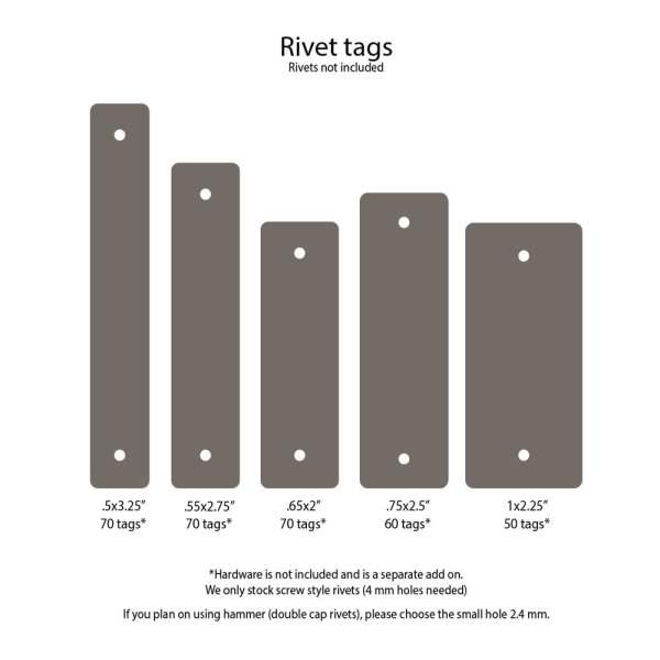 custom tags for rivets