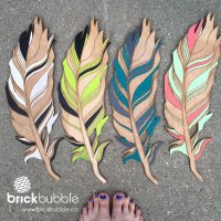 Wall Feathers