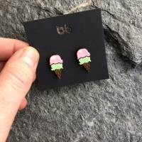 Ice Cream — earrings