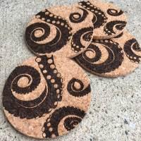 Tentacle Coasters