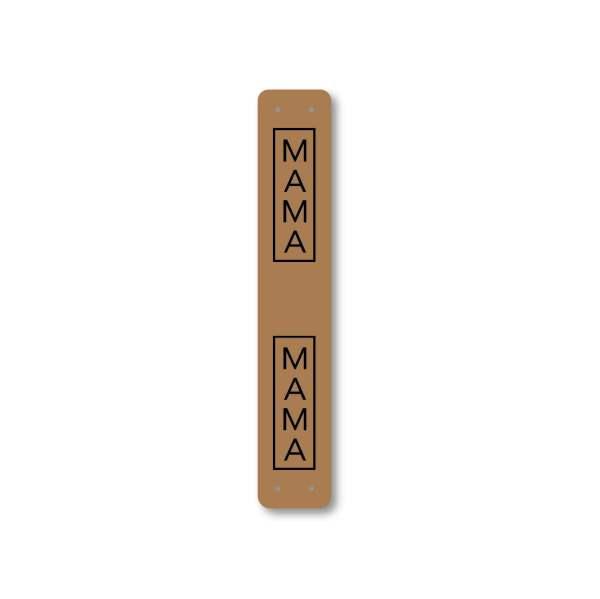 MAMA mini fold tag
