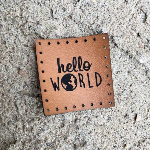hello world globe patch