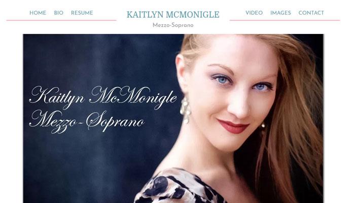 Kaitlyn McMonigle - Mezzo-Soprano