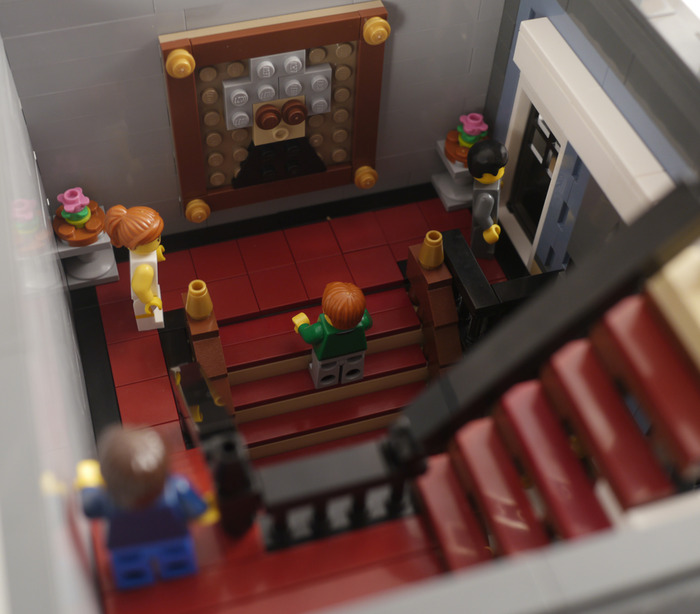 Purchase custom Lego instructions Amsterdam Hotel