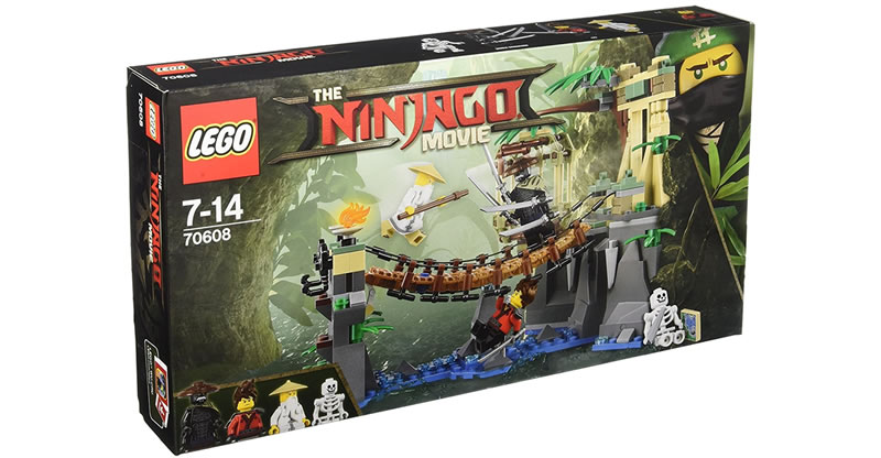 LEGO Ninjago Master Falls Building 70608 Review Fall
