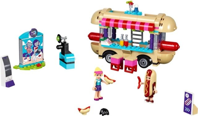 Lego Amusement Park Hot Dog Van 41129