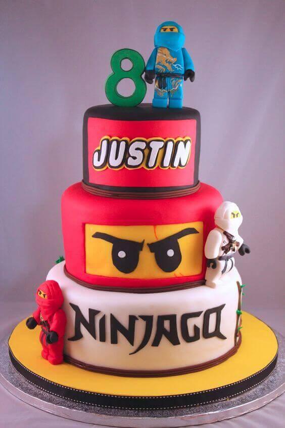 Lego Birthday Cakes - Ninjago